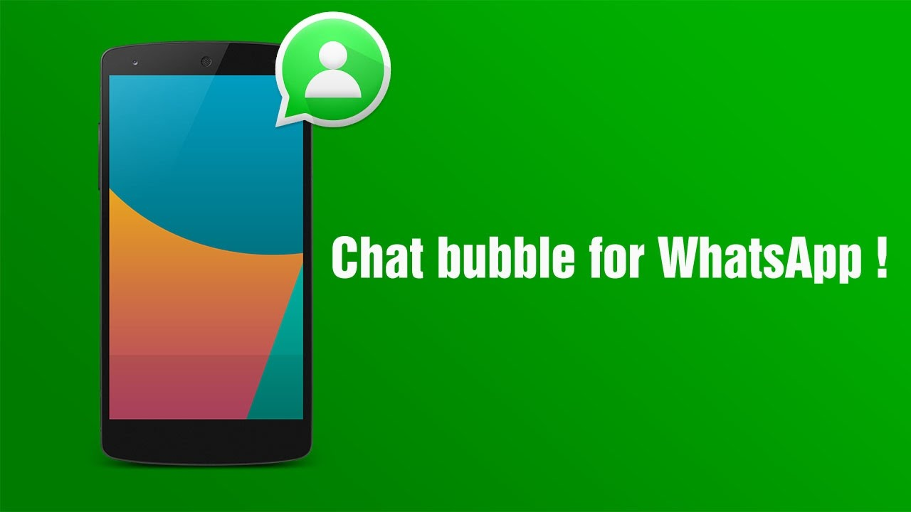 whatsapp sohbet baloncuğu